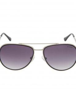 Ochelari de soare GUESS Silver Pearl Decorated Aviator