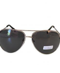 Ochelari de soare barbati Tommy Hilfiger Silver Aviator